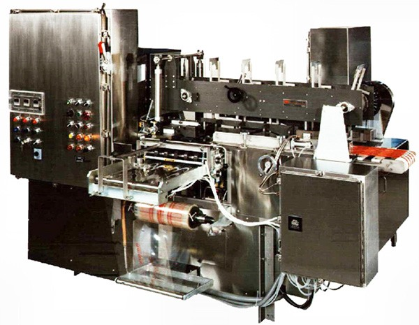 The first major piece of equipment - a 3x12 Wrapper, was added to HART Design & Manufacturing in 1982