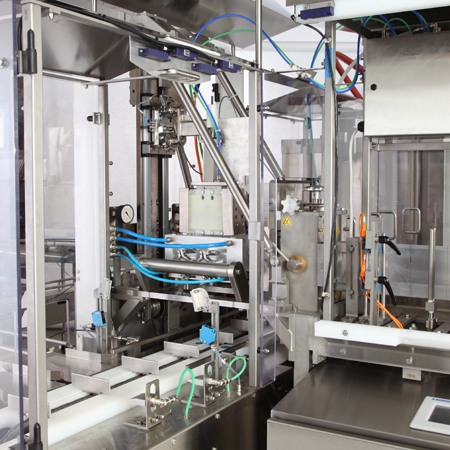 Auto-Pouch Assembly Machine from HART Design & Manufacturing