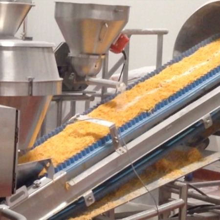 Food Service Shred Lines by HART Design & Manufacturing