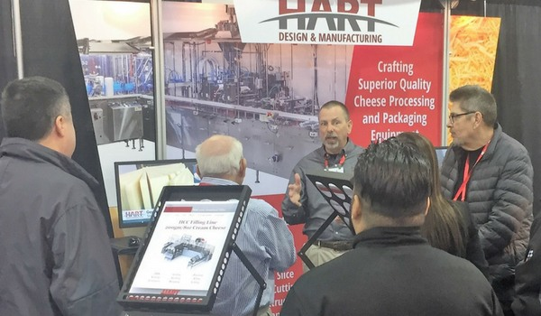 Marty at Tradeshow Representing HART