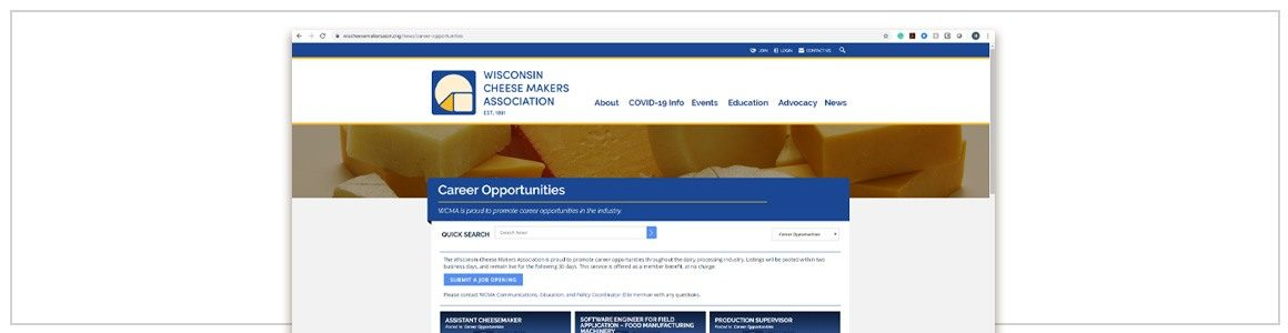 WCMA Launches New, Online Jobs Board